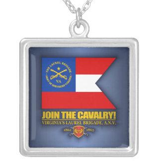 JTC (The Laurel Brigade) Square Pendant Necklace