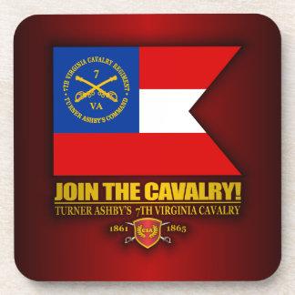 JTC (Turner Ashby's 7th Virginia Cavalry) Beverage Coaster