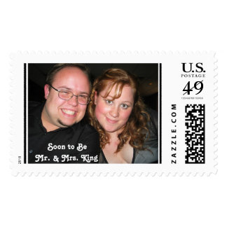 JTKEM-Label, Soon to Be Mr. & Mrs. Postage