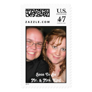 JTKEM-Label, Soon To BeMr. & Mrs. King Postage