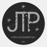 JTP, MYSPACE/THEJOETURNERPROJECT, SATX, *, *, * PEGATINAS REDONDAS