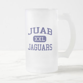 Juab - Jaguars - Junior High School - Nephi Utah Frosted Glass Beer Mug