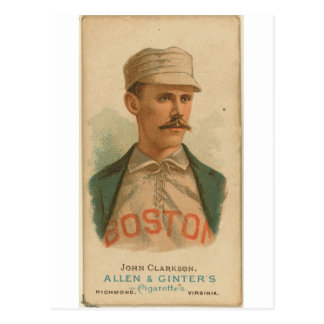Juan 1887 Clarkson Boston Beaneaters Tarjeta Postal