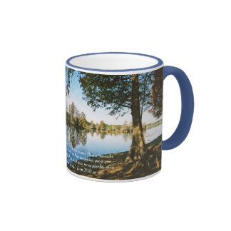 Juan 3:16 B Tazon Ringer Mug