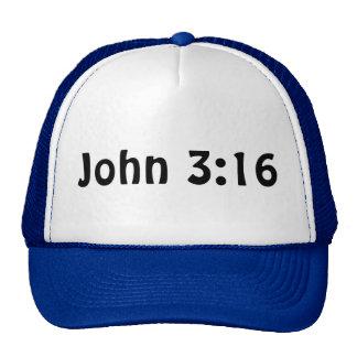 Juan 3 16 gorras