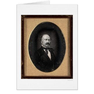Juan A. Sutter [CA 1850] Tarjeta De Felicitación