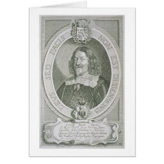 Juan Adler Salvius (1590-1652) de los 'retratos d Tarjeta De Felicitación