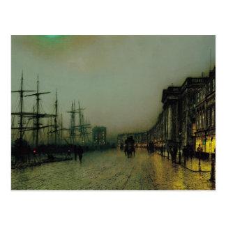 Juan Atkinson Grimshaw- Glasgow cauta Postales