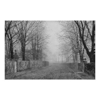 Juan Atkinson Grimshaw - resplandor de tarde (modi Posters