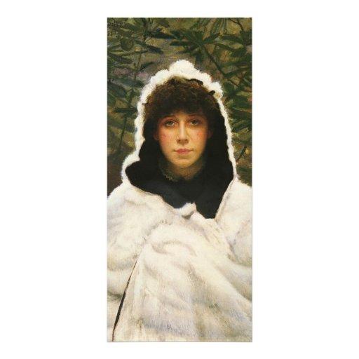 Juan Atkinson Grimshaw- sitiado por la nieve Plantillas De Lonas