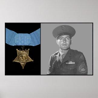 Juan Basilone y la medalla de honor Impresiones