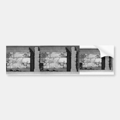 Juan Battista Piranesi- las antigüedades romanas Pegatina Para Auto