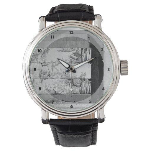 Juan Battista Piranesi- las antigüedades romanas Relojes De Mano