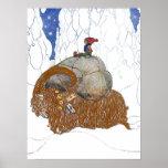Juan Bauer la cabra del navidad Posters
