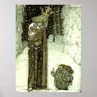 Juan Bauer la princesa y el duende Póster