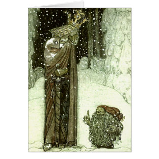 Juan Bauer la princesa y el duende Tarjetas