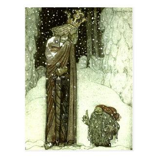 Juan Bauer la princesa y el duende Tarjeta Postal
