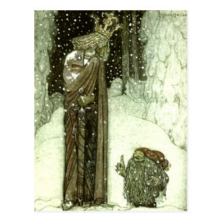 Juan Bauer la princesa y el duende Tarjetas Postales
