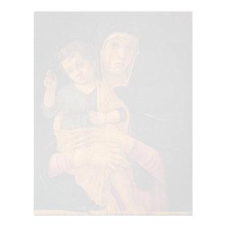 Juan Bellini- Madonna con la bendición del niño Membretes Personalizados