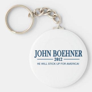 Juan Boehner 2012 - pegúese para arriba para Améri Llavero Personalizado
