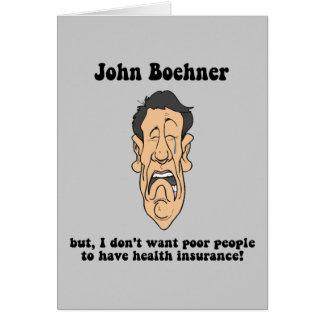 Juan Boehner Tarjeta De Felicitación