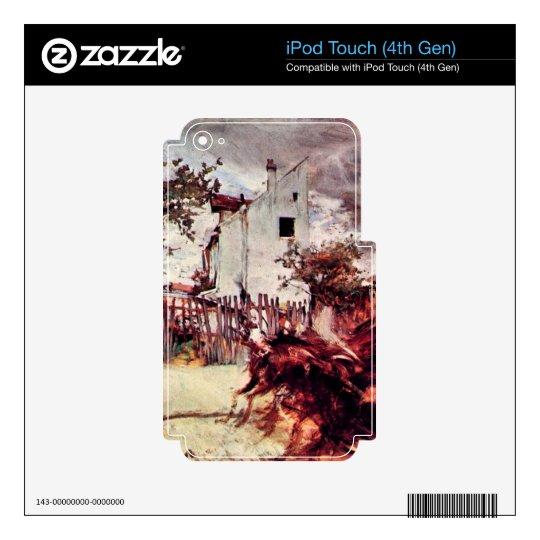 Juan Boldini - cercanías de París iPod Touch 4G Skin