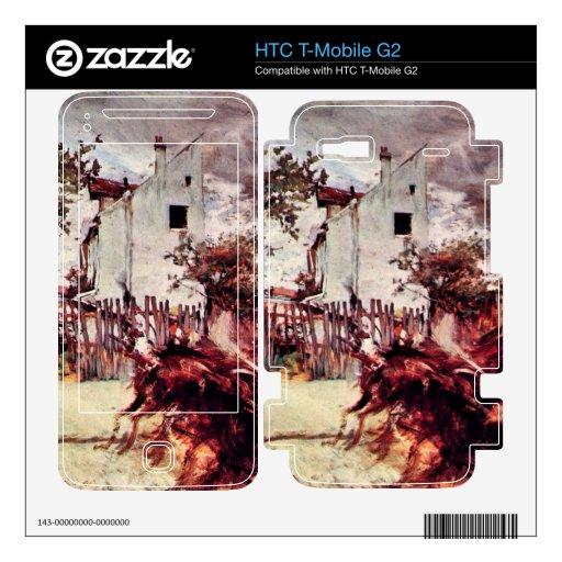 Juan Boldini - cercanías de París Calcomanía Para HTC T-Mobile G2