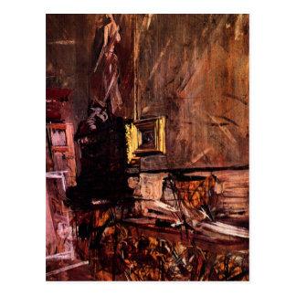 Juan Boldini - el marco del oro Tarjetas Postales