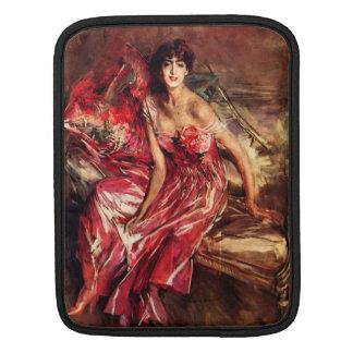 Juan Boldini - señora en rojo Manga De iPad