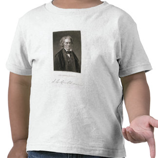 Juan Caldwell Calhoun, grabado por Henry Bryan Hal Camiseta