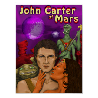 Juan Carretero de Marte 11 x poster 14,71