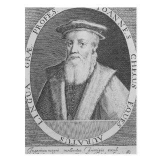 Juan Cheke, 1620 Tarjeta Postal