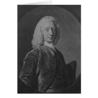 Juan Coutts Esq., señor Provost de Edimburgo Tarjeta