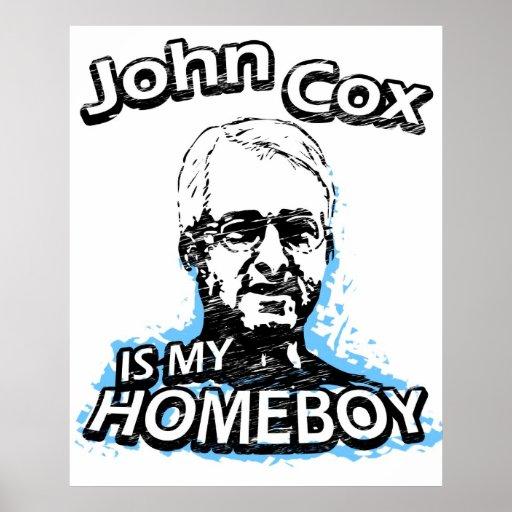 Juan $cox es mi homeboy póster