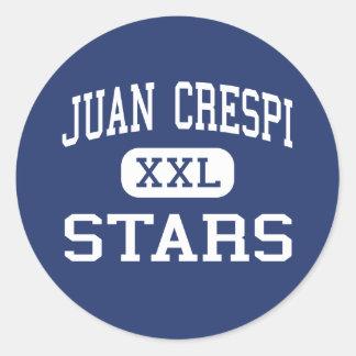 Juan Crespi - Stars - Junior - El Sobrante Classic Round Sticker