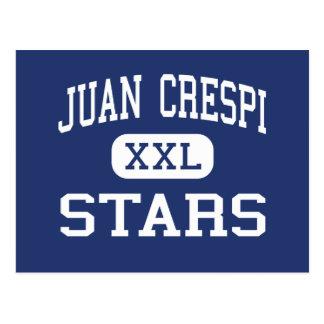 Juan Crespi - Stars - Junior - El Sobrante Postcard