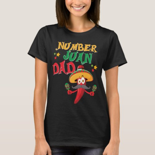 Juan Dad Funny Spanish Mexican Fathers Day Shirt