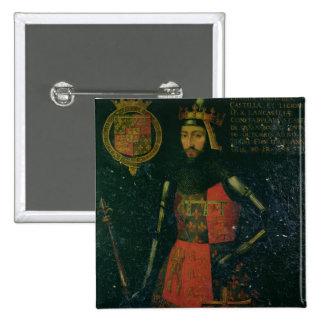 Juan de flaco duque de Lancaster Pins
