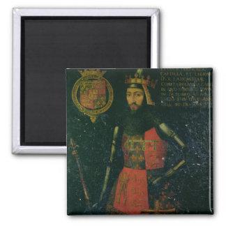 Juan de flaco, duque de Lancaster Imán Cuadrado