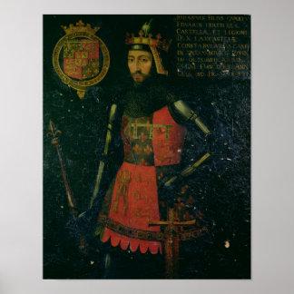 Juan de flaco, duque de Lancaster Impresiones