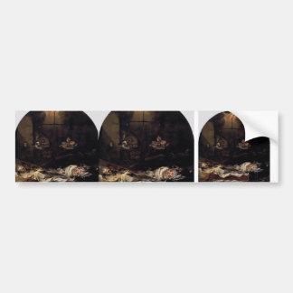 Juan de Valdes Leal- Finis Gloriae Mundi Bumper Sticker