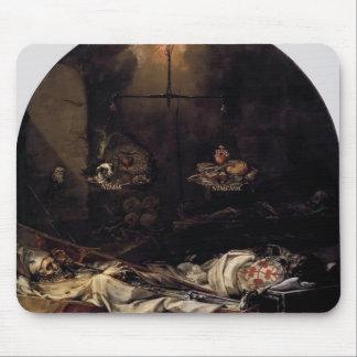 Juan de Valdes Leal- Finis Gloriae Mundi Mousepads