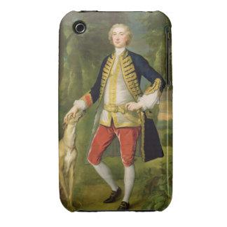 Juan Dodd, M.P. (aceite en lona) iPhone 3 Protector