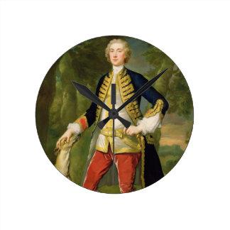 Juan Dodd, M.P. (aceite en lona) Reloj Redondo Mediano