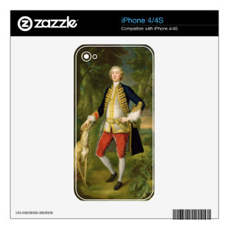 Juan Dodd, M.P. (aceite en lona) Skins Para eliPhone 4S