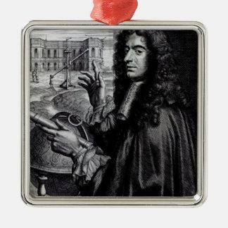 Juan Domingo Cassini Adorno Navideño Cuadrado De Metal