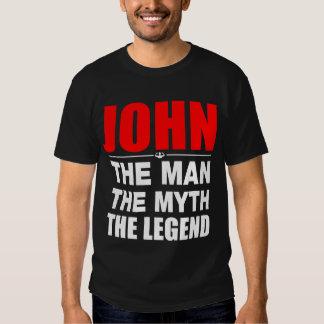 Juan el hombre el mito la leyenda remera
