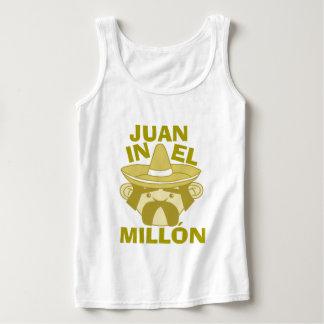 Juan en el EL Millon Playera De Tirantes Básica