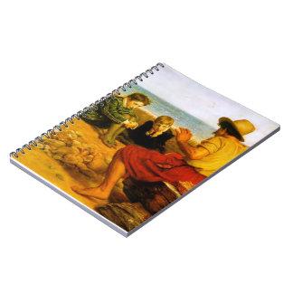 Juan Everett Millais- la adolescencia de Raleigh Cuaderno