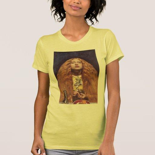 Juan Everett Millais- la dama de honor Camisetas